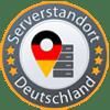 Serverstandort in Deutschland.