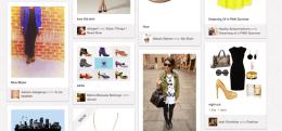 Die Boards bei Pinterest