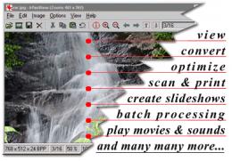 IrfanView bietet zahlreiche Features und unterstützt die unterschiedlichsten Dateiformate