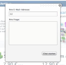 Live-Support: Schnelle Hilfe per Chat-Formular