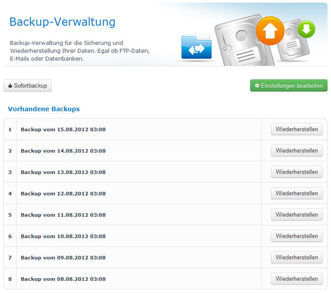 Backup-Uebersicht
