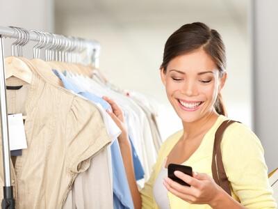 In den Laden oder per Smartphone? das mobile Shopping wird zunehmend wichtiger
