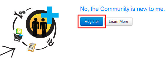 Die Registrierung