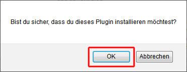 Ja, WordPress-Plugin wirklich installieren!