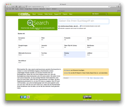 Creative Commons Searchengine
