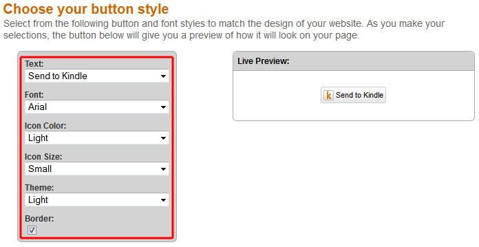 StK-Button: Choose your Style
