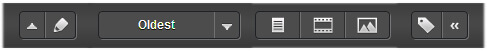 Pocket Web-Ansicht: unteres Menue