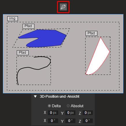 Google Web Designer - Stift Tool