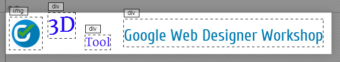 Google Web Designer - 3D Bearbeitung