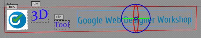 Google Web Designer - 3D Rotations-Tool