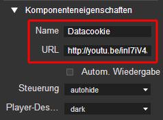 Google Web Designer - YouTube Link einfügen