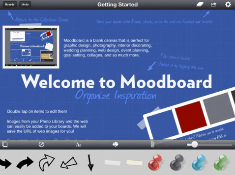 Ein Moodboard kann dabei helfen, Wünsche und Vorstellungen zu sortieren - auch im Hinblick auf Farben.