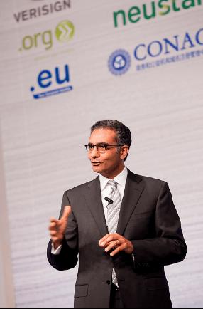 Fadi Chehadé ist der derzeitige Präsident der ICANN, die von Kalifornien aus über das Internet wacht.