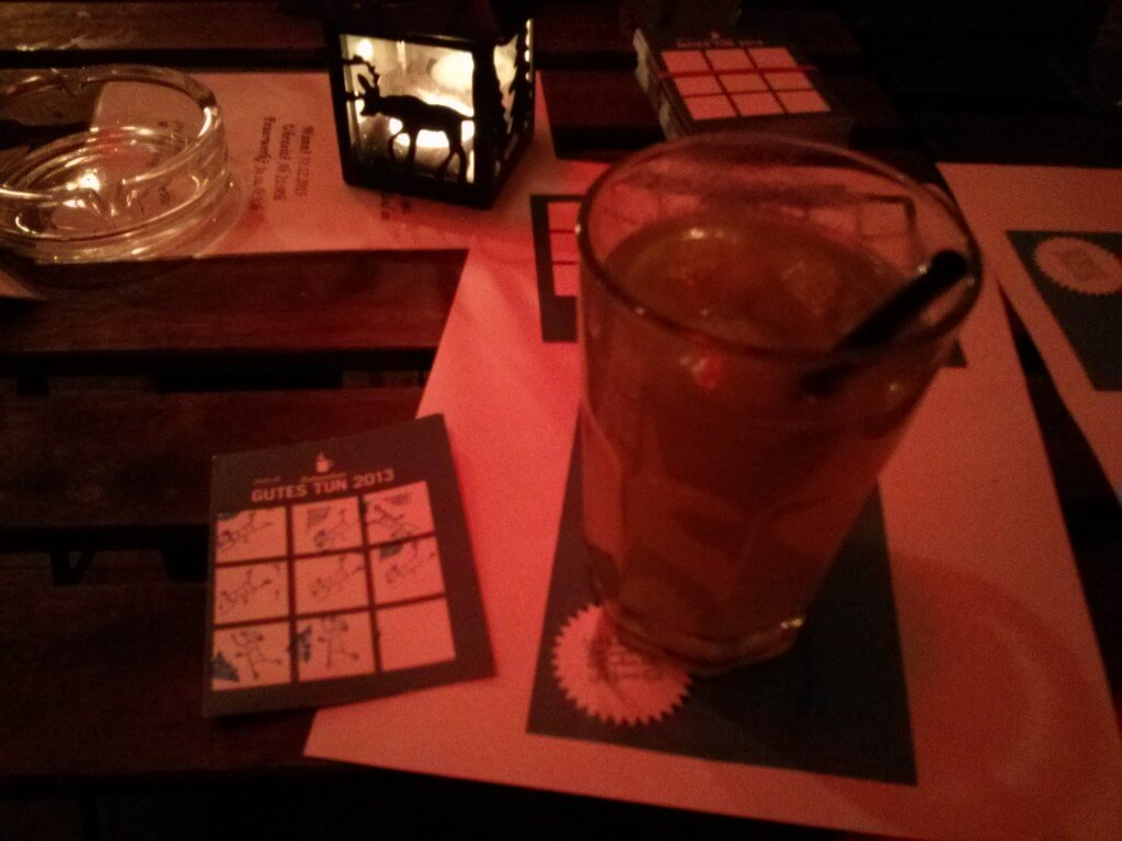 Hot Apple Caipi betrunken gutes tun