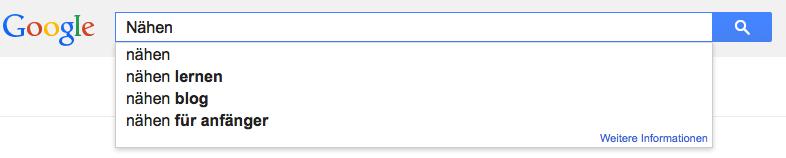Welche Fragen werden am häufigsten zu einem Stichwort gestellt? Google zeigt es Dir.