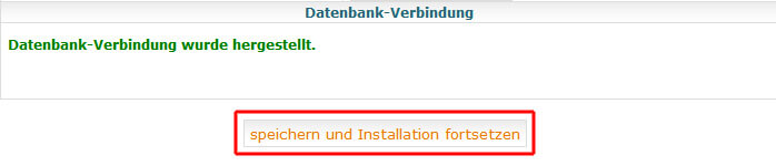 MySQLDUmper - Datenbank-Verbindung prüfen