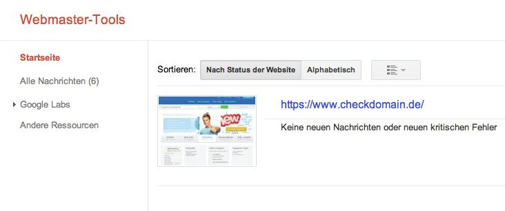 webmastertool-uebersicht