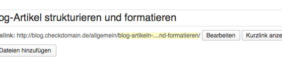 Leser anlocken und die Botschaft in Kurzform transportieren: Headlines sind multifunktional. Screenshot: S. Cantzler