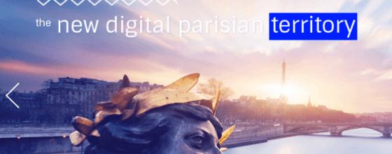 Mit der Präsentation von 100 Pionieren feiert die City-TLD .paris eine erste große Zwischenetappe. Screenshot: Point Paris