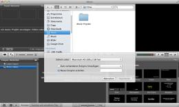 Und Cut: Mit Bildbearbeitungs-Software wie iMovie sind Schnitt und Nachbearbeitung auch für Laien keine große Sache mehr. Screenshot: S. Cantzler