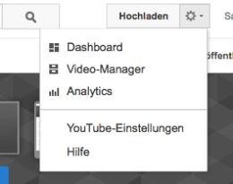 Über die YouTube-Einstellungen landet Ihr bei Euren persönlichen Kontoeinstellungen, in denen Ihr wichtige Punkte wie Datenschutz und E-Mail-Benachrichtigungen konfigurieren könnt. Screenshot: S. Cantzler