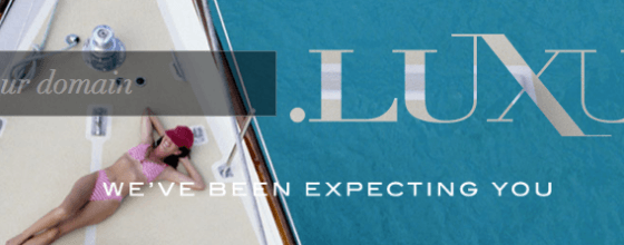 Purer Luxus: Die nTLD .luxury ist auf die Bedürfnisse der Luxusindustrie zugeschnitten - das hat natürlich seinen Preis... Screenshot: dotluxury.com