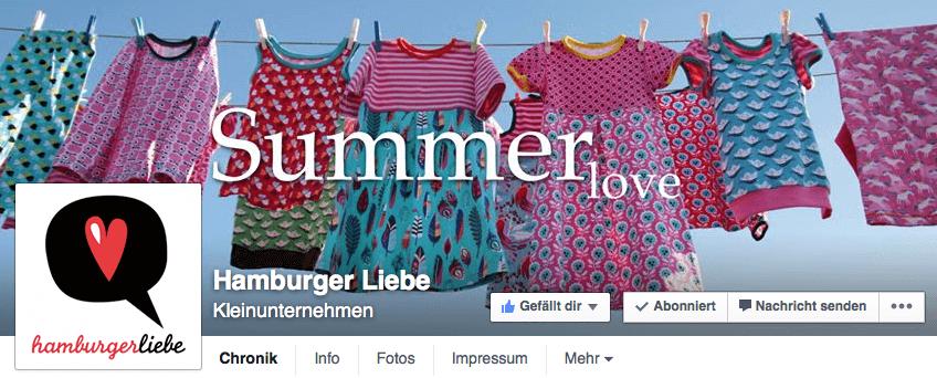 Logo plus Foto optimal kombiniert: Die Facebook-Fanpage der Bloggerin und Designerin Susanne Firmenich. Screenshot: S. Cantzler