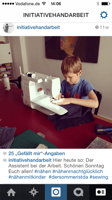 Was prägt Euch als Blogger? Auf Instagram könnt Ihr Einblicke in Euren Alltag geben und so zeigen, was in Eurem Leben alles eine wichtige Rolle spielt. Screenshot: S. Cantzler
