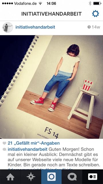 An was arbeitet Ihr gerade? Auf Instagram könnt Ihr Eure Nutzer mit Blicken hinter die Kulissen (oder auf den Schreibtisch) neugierig machen, was demnächst auf Eurem Blog passiert. Screenshot: S. Cantzler