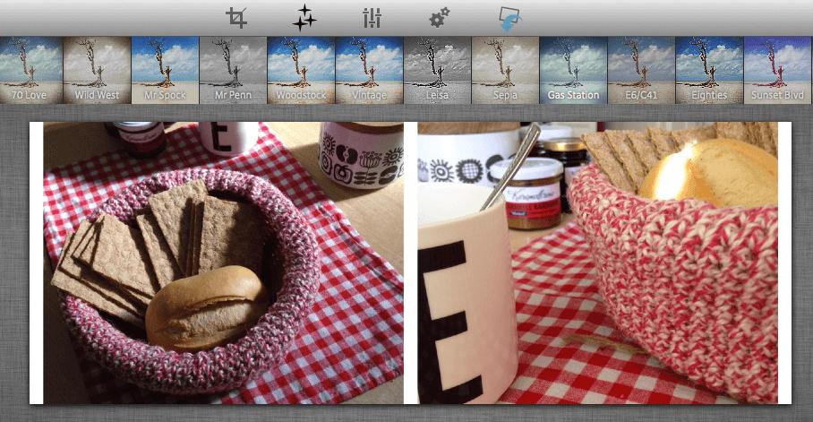 Wer möchte, kann seinen passend zugeschnittenen Bilderm mit dem Social Media Image Maker auch noch einen Filter verpassen. Screenshot: S. Cantzler