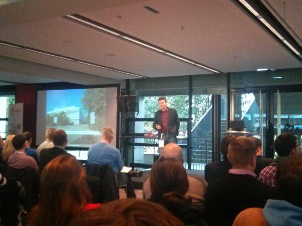 Jens Fauldrath auf dem SEO-Day 2014