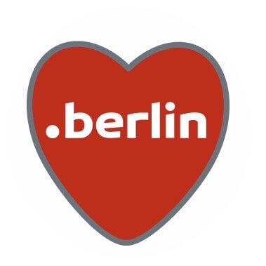 Die neue Domainendung für die Hauptstadt: .berlin ging im Frühjahr 2014 an den Start und zählt zu den erfolgreichsten neuen Domainendungen. Logo: dot.berlin