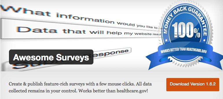 Umfrage-Plugins gibt es allein für WordPress in fast schon unzähligen Varianten. Screenshot: S. Cantzler