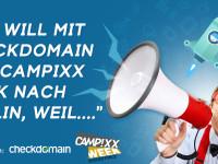 Fahre mit uns auf die CAMPIXX-Week!