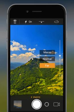 Camera Plus zählt zu den Klassikern unter den Foto-Apps und besticht durch immer wieder neue Features wie die Fernbedienung AirSnap. Foto: Camera Plus