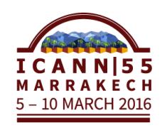 Drei öffentliche ICANN-Meetings gibt es jedes Jahr - das nächste findet im März 2016 in Marrakesch statt. Screenshot: icann.org