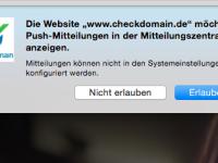 Ruhebedürftig? So deaktiviert Ihr Browser-Push Notifications