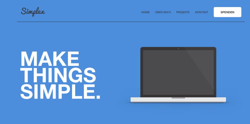 Gut strukturiert, sachlich im Ton: Dave aka Simplex vermittelt auf seinem YouTube-Kanal die Basics rund ums Web-Design. Screenshot: Simplex