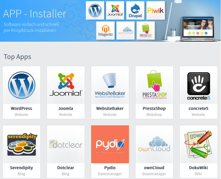App-Installer für WordPress nutzen