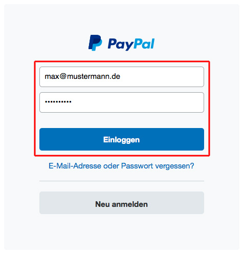 Paypal Lastschrift Rückbuchung