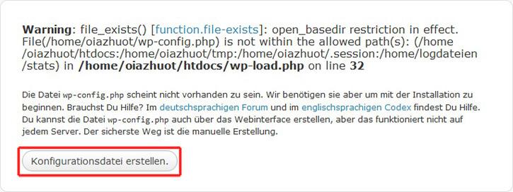 Wordpress, Eigene Domain im Browser aufrufen